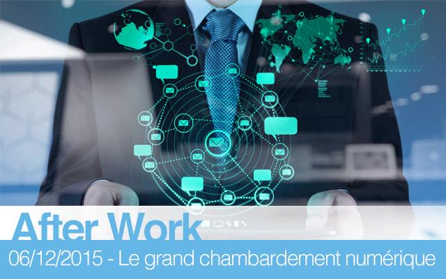 After Work / Le grand chambardement du numérique : quelle place pour l'intervention de la puissance publique dans le numérique ?