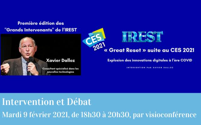 « Great Reset » suite au CES 2021 ?