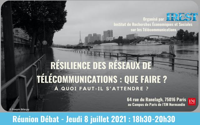Table-ronde - Résilience des réseaux de télécommunications